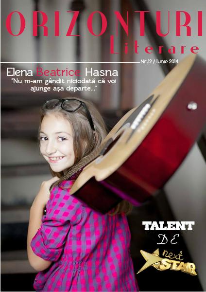 Revista Orizonturi Literare Iunie 2014
