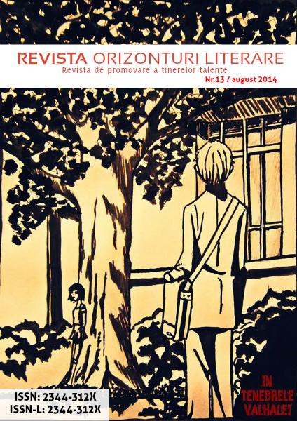Revista Orizonturi Literare august 2014