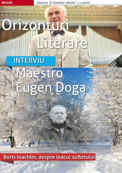 Revista Orizonturi Literare martie 2015