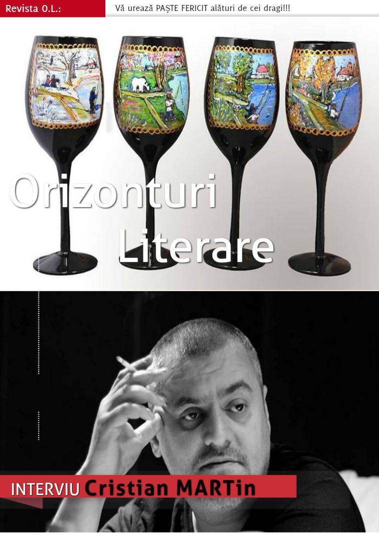 Revista Orizonturi Literare aprilie 2015