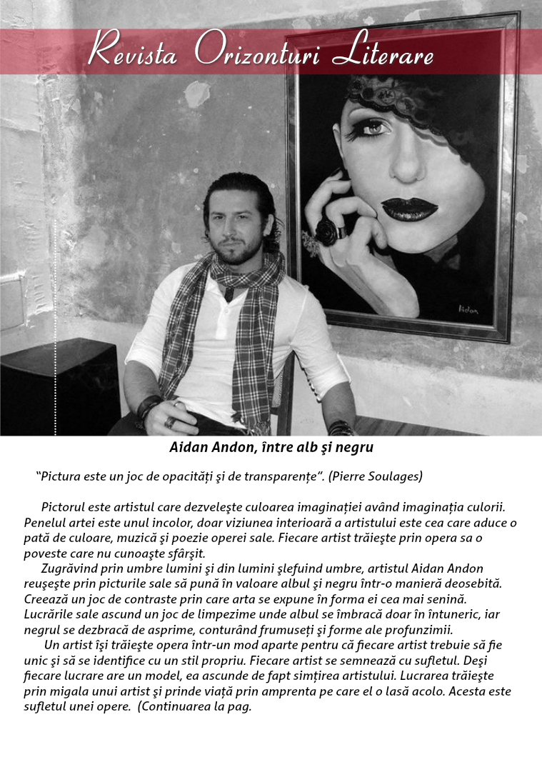Revista Orizonturi Literare MAI 2015