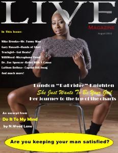 Upscale LIVE Magazine Volume 1 - August 2013
