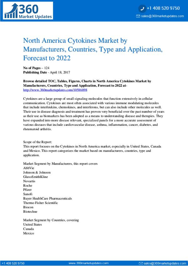 Reports- Cytokines Market