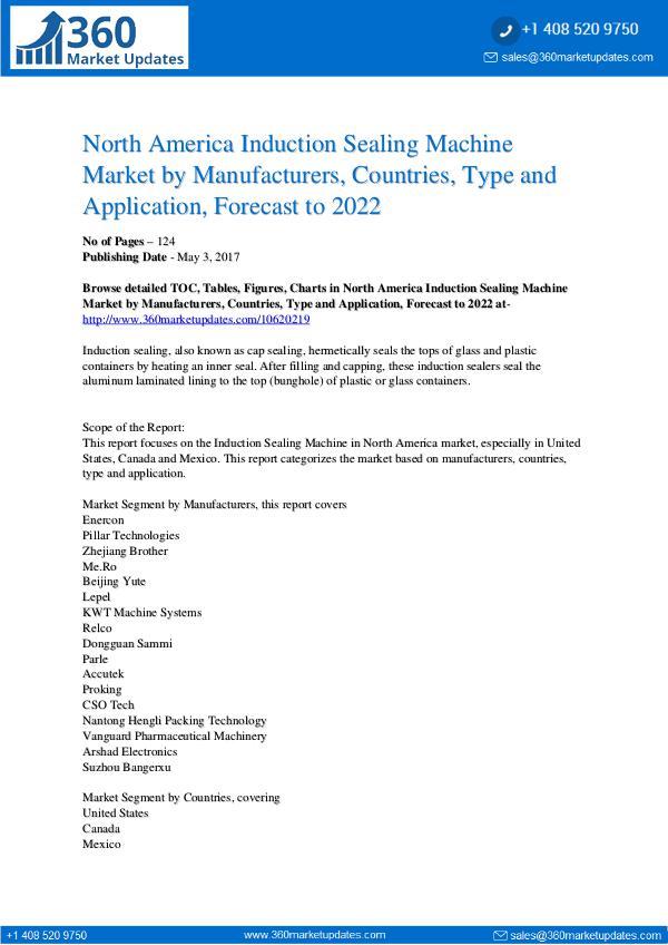 Reports- Induction Sealing Machine Market
