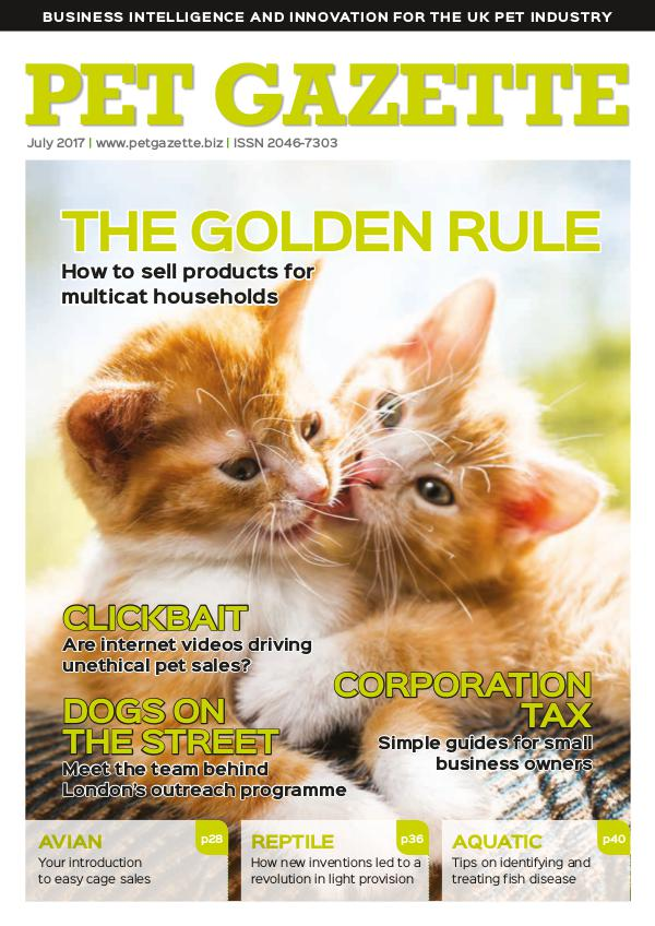 Pet Gazette Pet Gazette July 2017