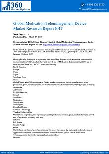 Medication Telemanagement Device Market Overview, Market by Type