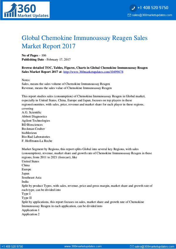 Chemokine-Immunoassay-Reagen-Sales-Market-Report-2