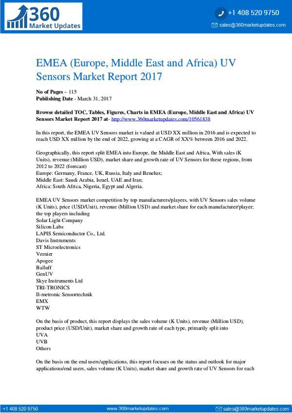 Report- UV-Sensors-Market-Report-2017