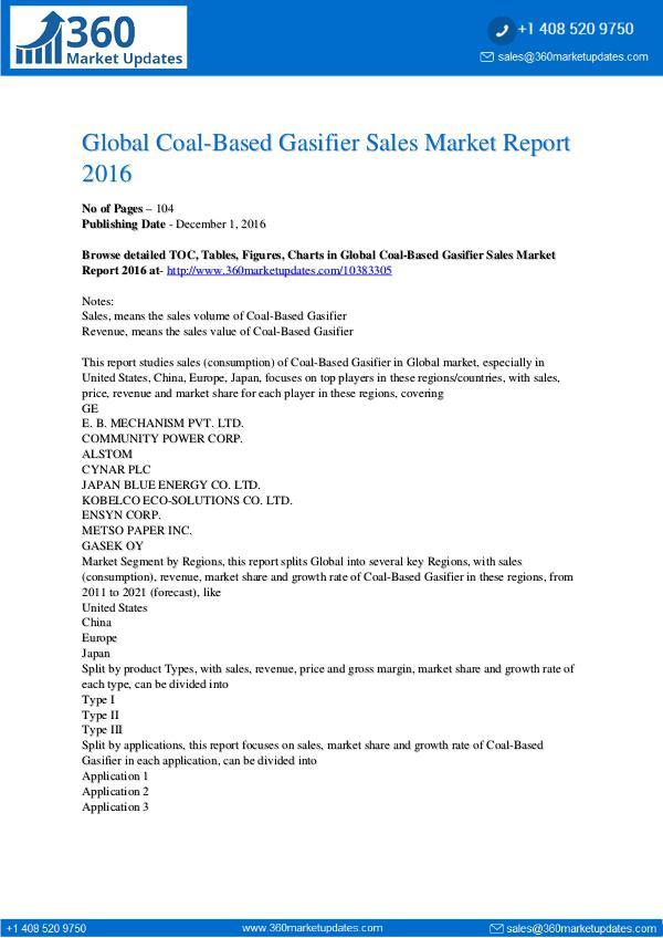 Coal-Based-Gasifier-Sales-Market-Report-2016