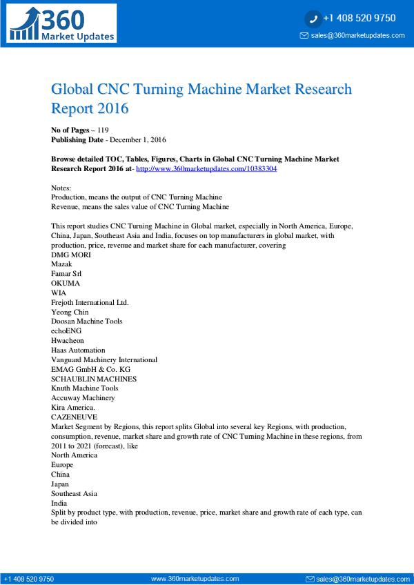 Report- CNC-Turning-Machine-Market-Research-Report-2016