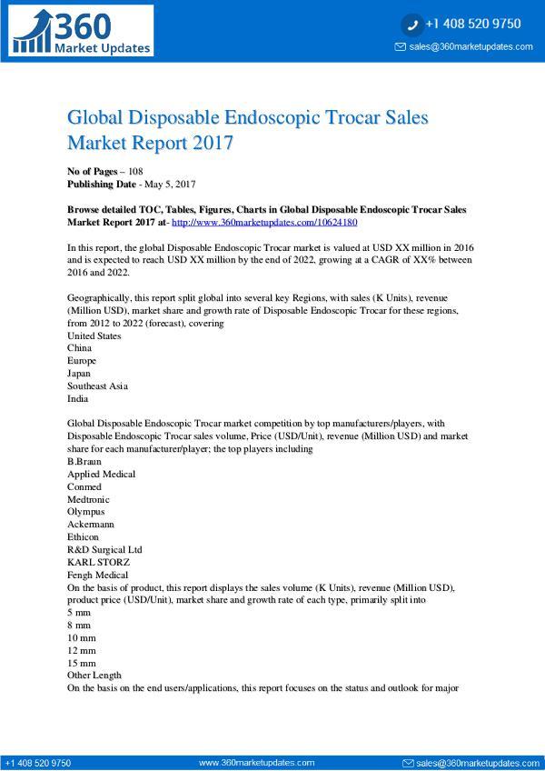 Report- Disposable-Endoscopic-Trocar-Sales-Market-Report-2