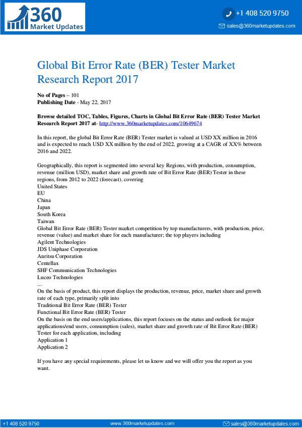 Bit-Error-Rate-BER-Tester-Market-Research-Report-2
