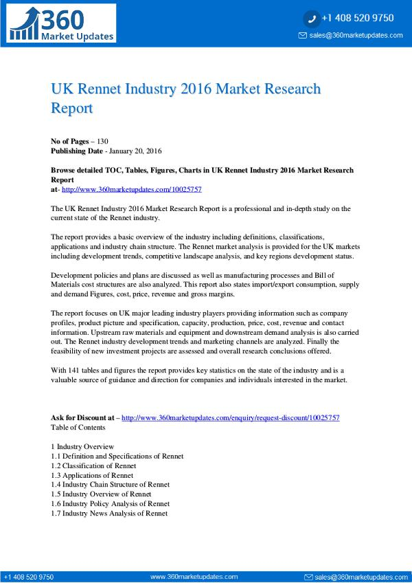 My first Magazine UK-Rennet-Industry-2016-Market-Research-Report-