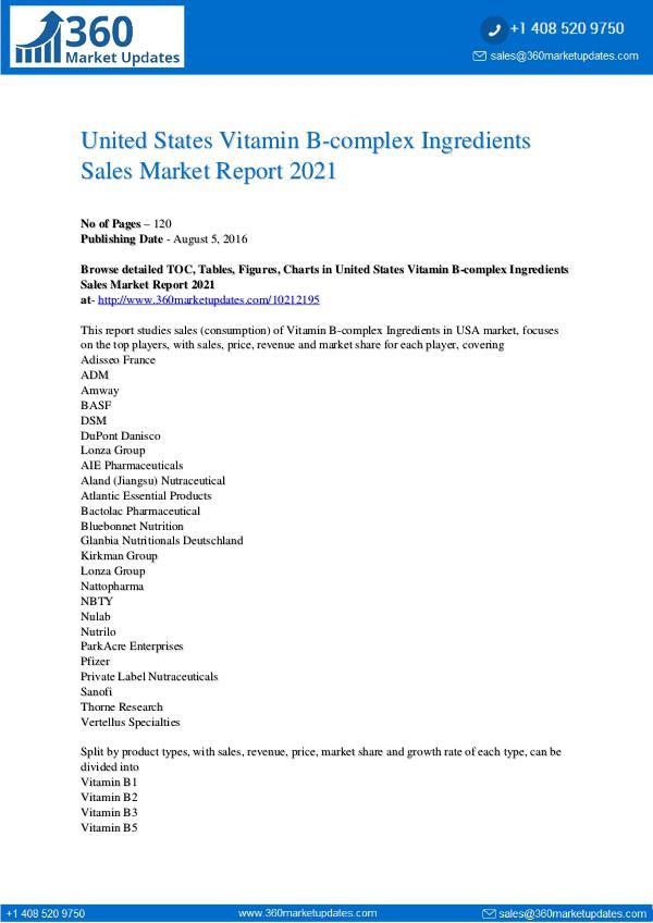 United-States-Vitamin-B-complex-Ingredients-Sales-