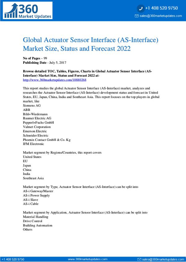 Asia Global-Actuator-Sensor-Interface-AS-Interface-Mark