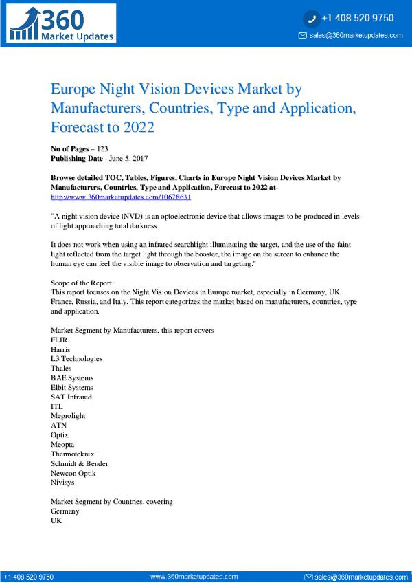 7-6-17 Europe-Night-Vision-Devices-Market-by-Manufacturer