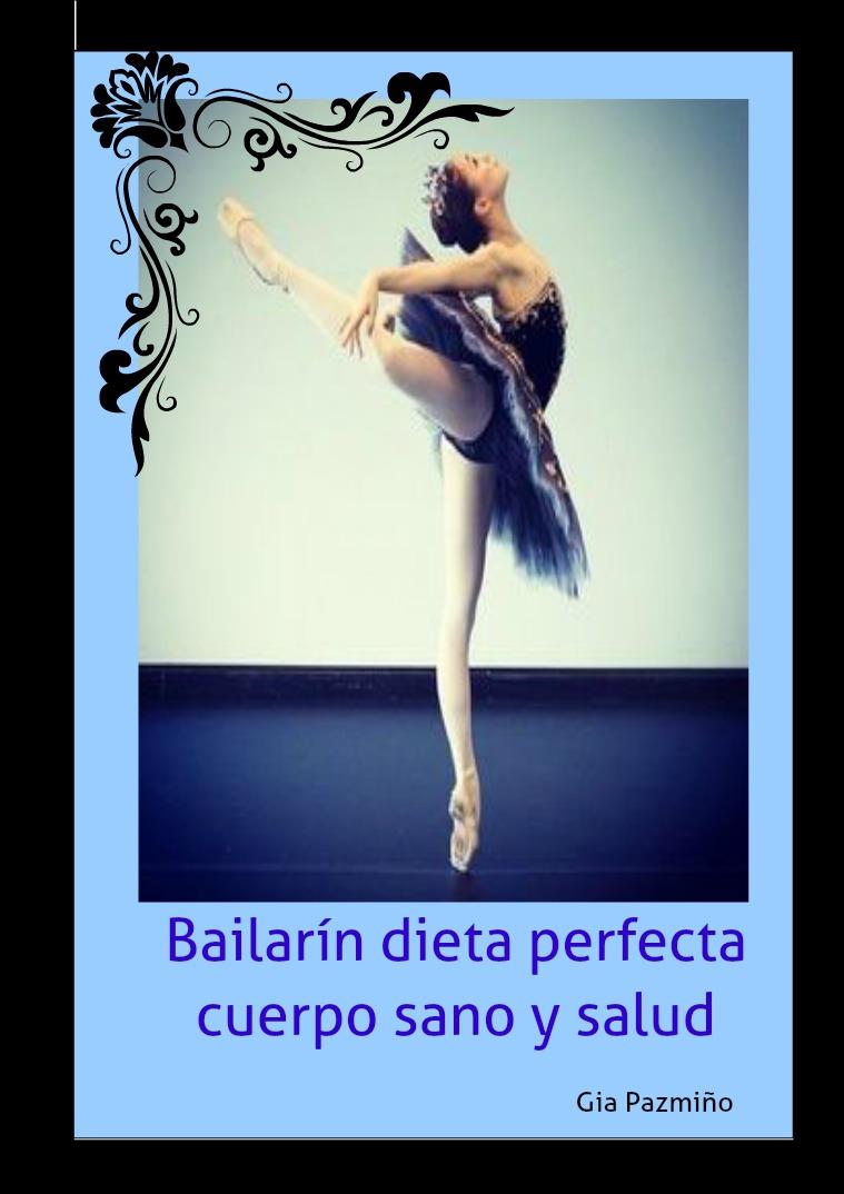 Mi primera revista dieta para bailarines