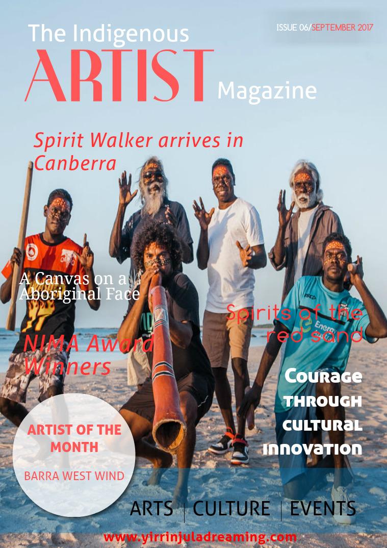 The Indigenous Artist Magazine Issue 6- September 2017