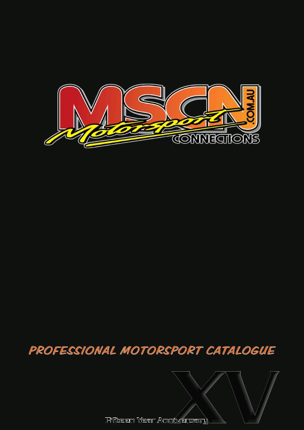 Motorsport Connections 2017 MOTOR SPORTS CATALOGUE