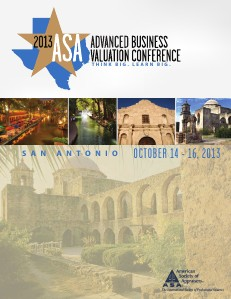 Advanced Business Valuation Conference 2013