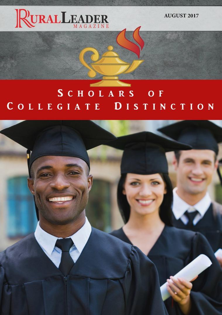 Scholars of Collegiate Distinction AUGUST 2017