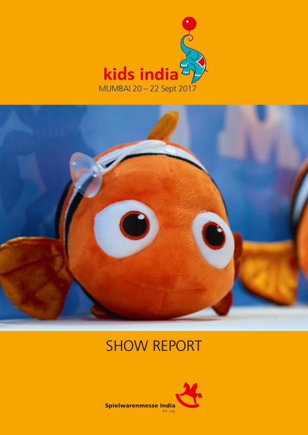 Kids India 2017 - Show Report KI2017_PostShowReport_Email