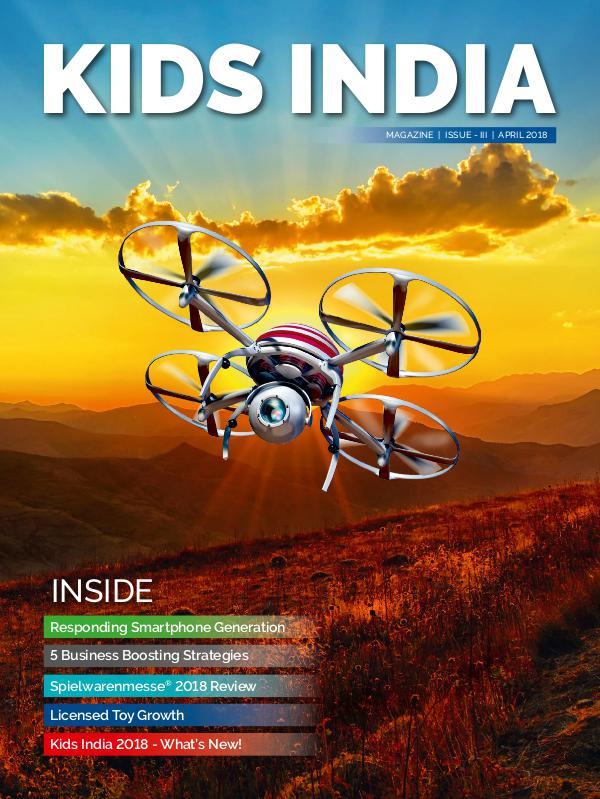 KIDS INDIA MAGAZINE APRIL 2018 ISSUE