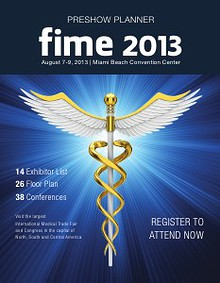 FIME 2013 PreShow Planner