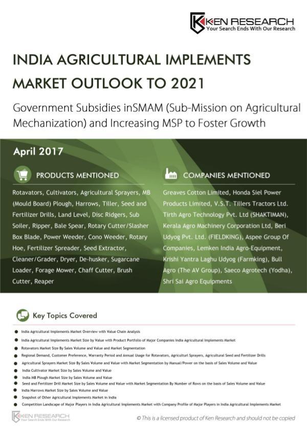 India Land Leveler Market,India Power Weeder Indus