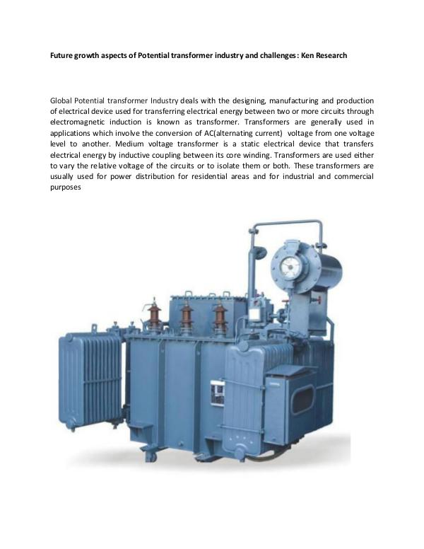 Market Research Report North America transformers market research,Europe