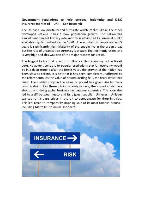 UK Insurance industry Regulations,UK insurance ind