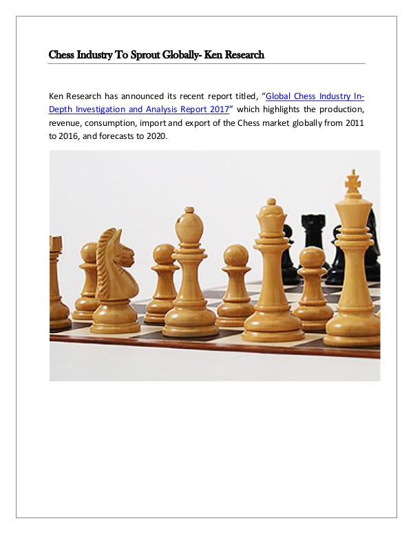Global chess market future,Global chess market res