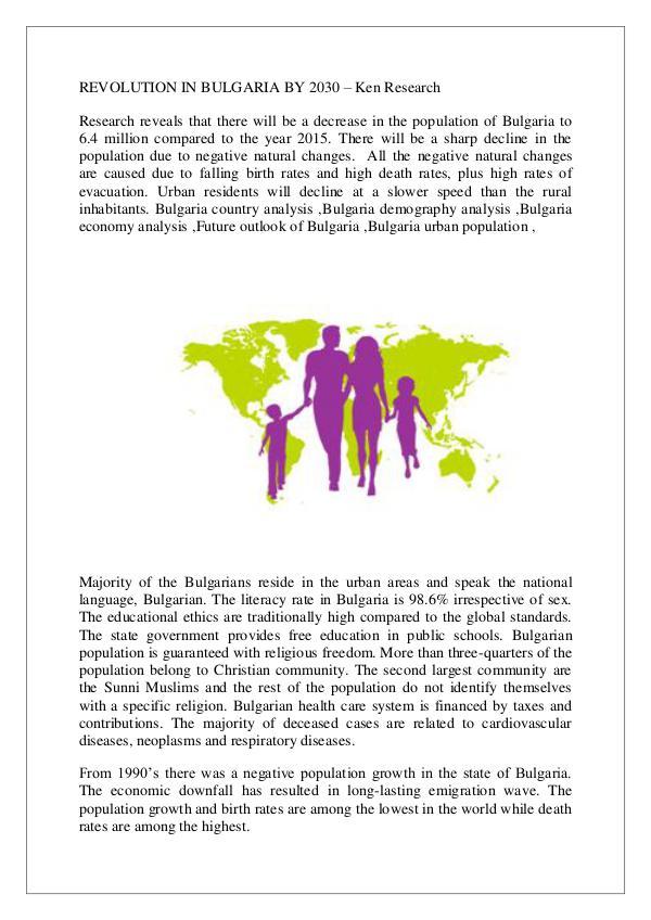 Bulgaria economy analysis,Bulgaria urban populatio