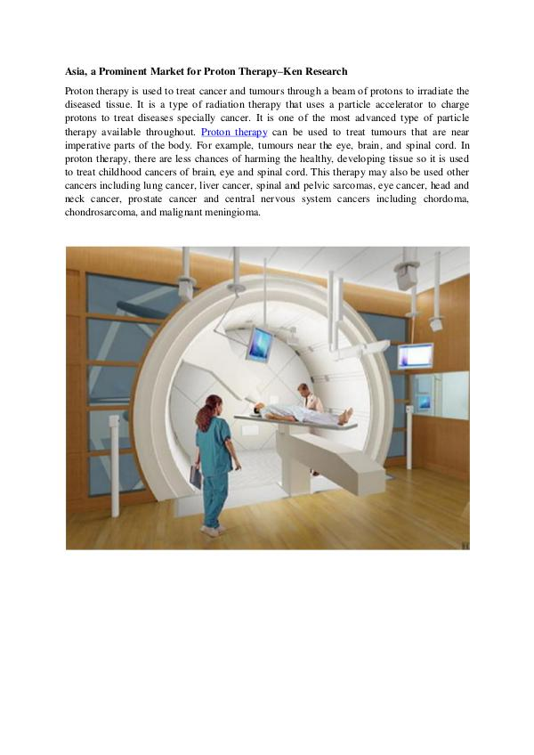 Proton therapy Global Market research Report,Asia
