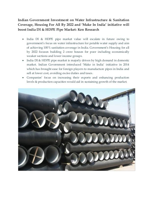 Ductile Iron Pipe Market 2017,Ductile iron pipes m