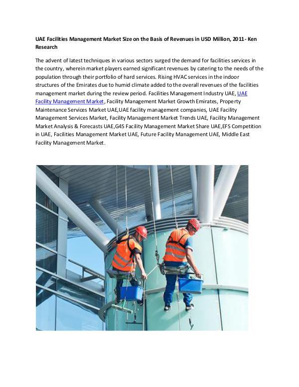 UAE Facility Management Market,UAE facility manage