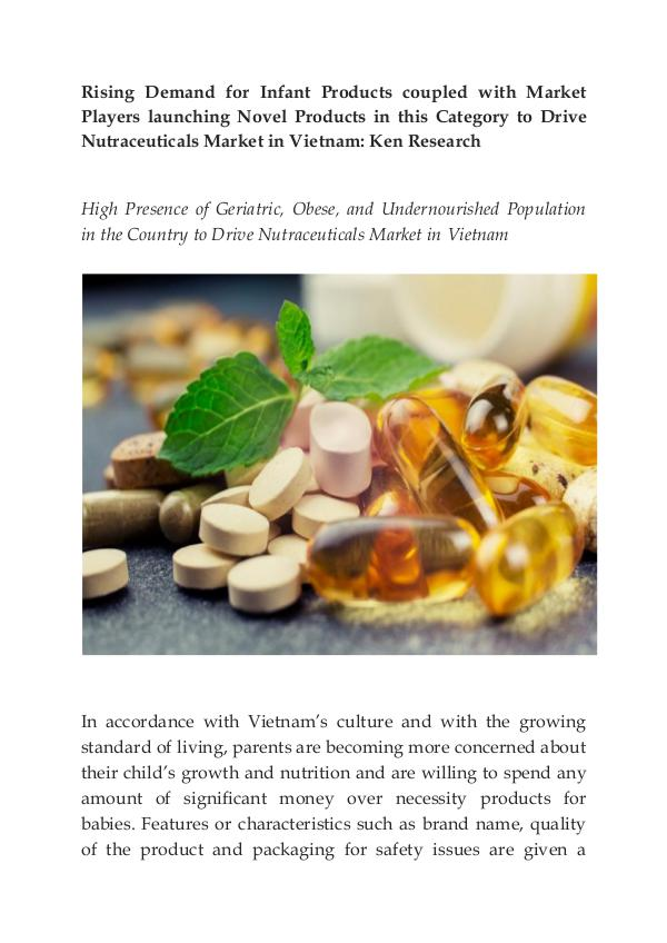 Herbal Supplements Market in Vietnam,Omega 3 Fatty