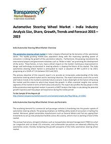 Automotive Steering Wheel Market Growth, Trends, Price and Forecast
