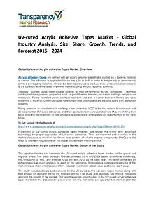 UV-cured Acrylic Adhesive Tapes Market Trends and Forecast