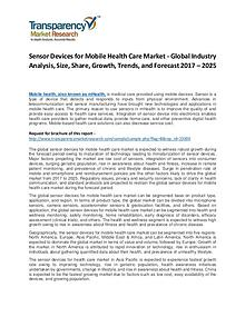 Sensor Devices for Mobile Health Care Market Growth and Forecast
