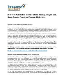 IT Robotic Automation Market Size, Share, Demand and Forecast