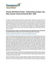 Telecom API Platform Market Growth, Demand, Price and Forecast