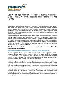Coil Coatings Market Growth, Trends, and Forecast 2015 - 2023
