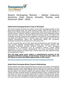 Retort Packaging Market Growth, Trend, Price and Forecast