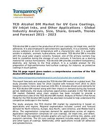 TCD Alcohol DM Market Size, Share, Growth, Trends, and Forecast 2015