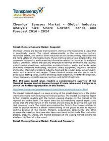 Chemical Sensors Global Analysis & Forecast to 2024