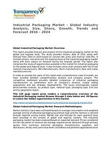 Industrial Packaging Market – Analysis and Forecasts To 2024