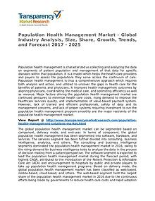 Population Health Management Market – Analysis and Forecasts 2025