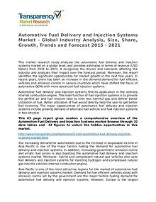 Automotive Fuel Delivery and Injection Systems 2015 Market