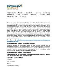 Microplate Washer Market Research Report and Forecast up to 2027